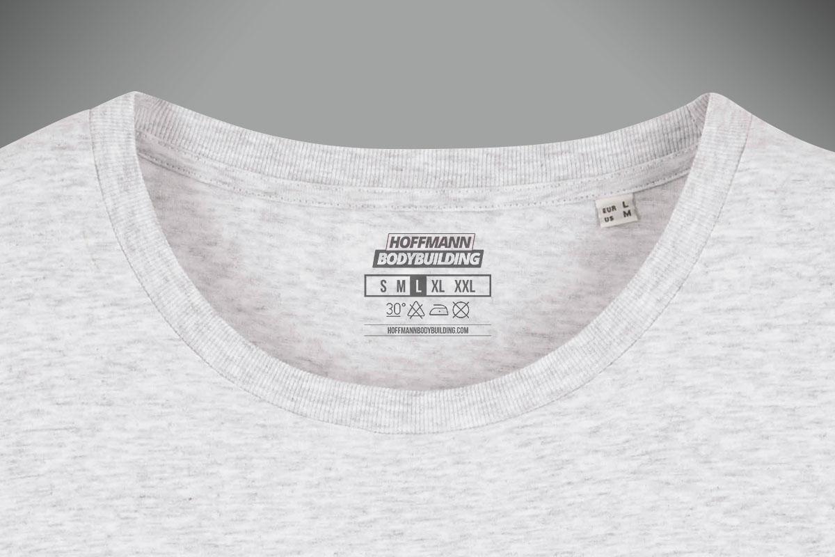 Neckprint auf T-Shirt
